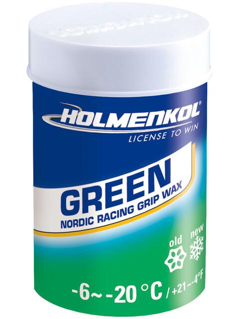 Holmenkol GripGreen 45g , vihreä/sininen
